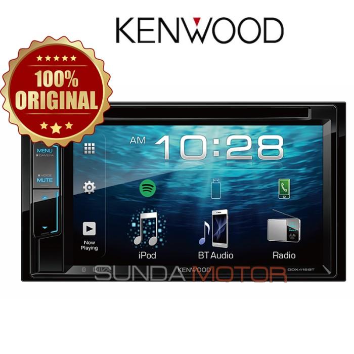 harga Kenwood ddx418bt - head unit 2din - original trusted by sunda motor Tokopedia.com