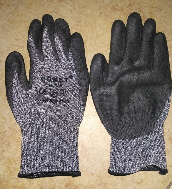 Anti-skid Anti Cut Resistant Gloves Work Protection Level 5 Glove Professional
