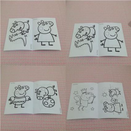 Jual Buku Mewarnai Custom Peppa Pig Kota Administrasi Jakarta
