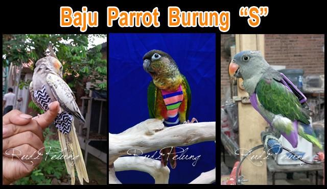 harga Baju parrot  burung ukuran s cockatiel, ysc, peach conure, jalak Tokopedia.com