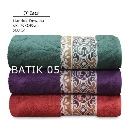 harga Handuk Tp Premium Batik 05  Uk.70x140 Tokopedia.com