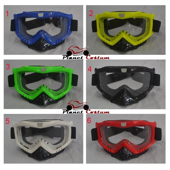 harga Kacamata goggle helm import murah motor trail motocross supermoto klx Tokopedia.com