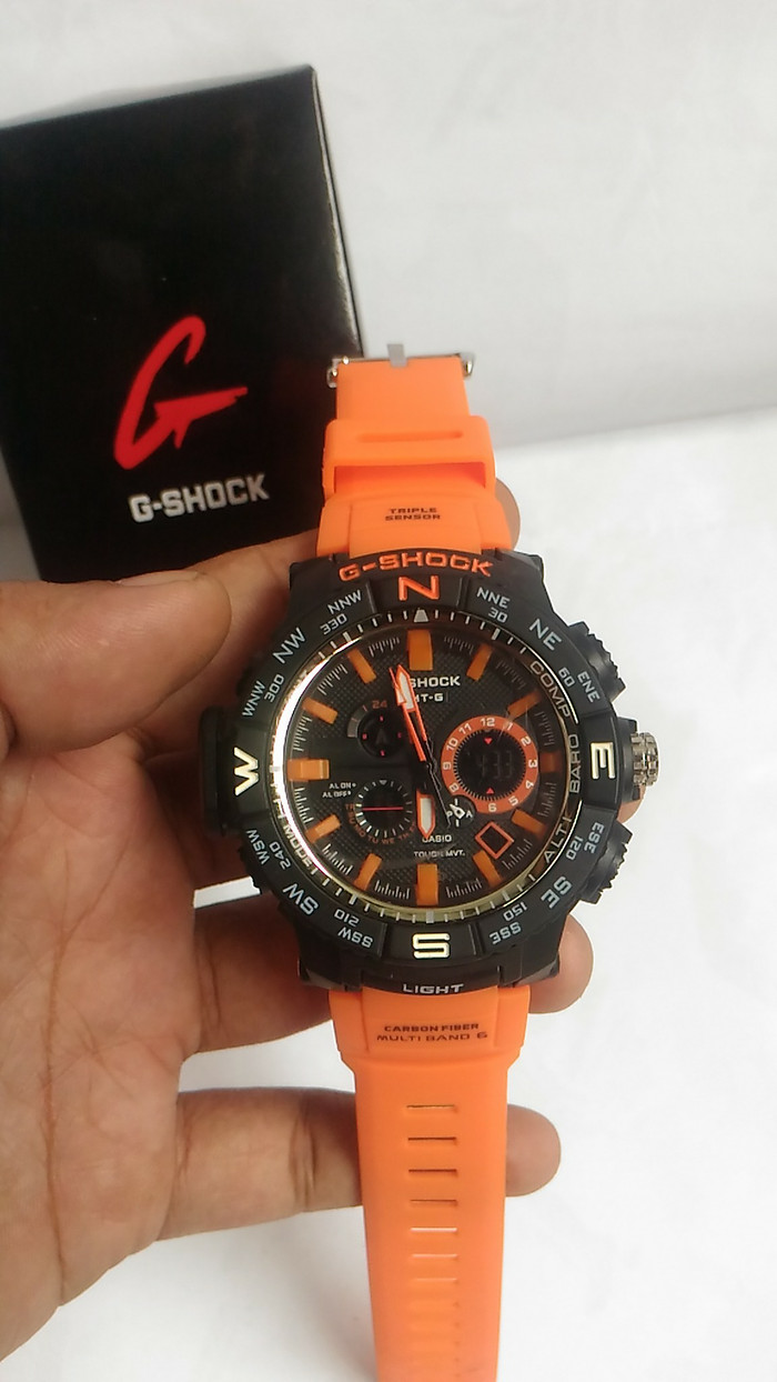 Casio G Shock Mtg S1000d 1a Jam Tangan Pria Silver Lihat Daftar Bonia B433 1253 Gold Jual Tali Orange Water Resist