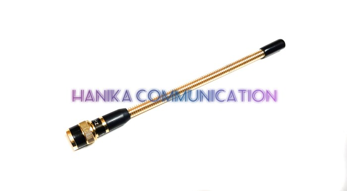 Sky2 Antena HT Helikal Kuning VHF BNC Male Icom IC-V80 V8 Emas Gold dl