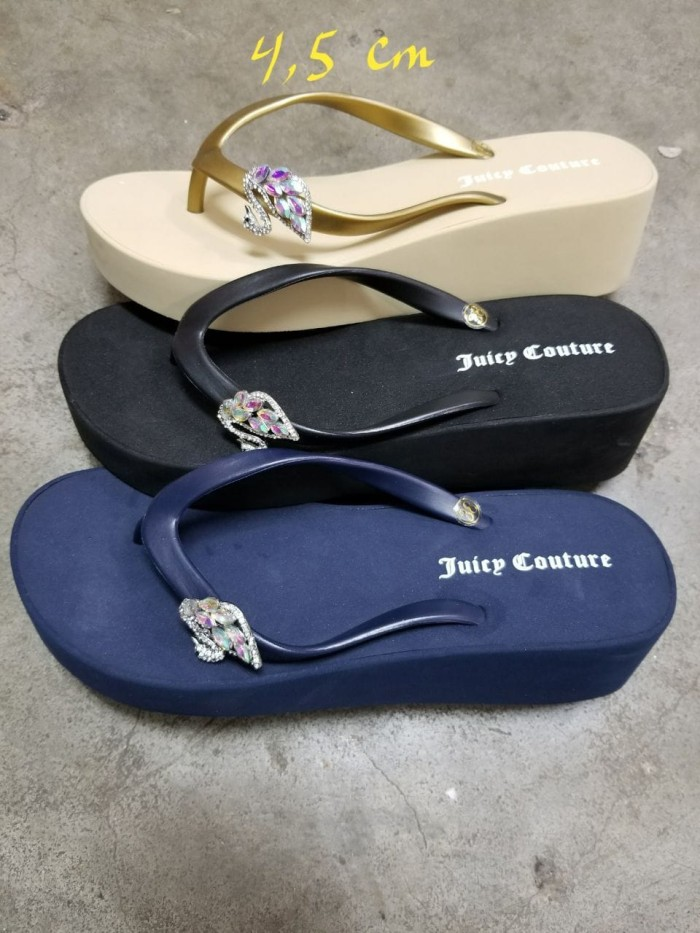 harga Sandal juicy couture angsa wedges 4.5 cm Tokopedia.com