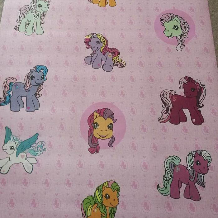Jual Wallpaper Sticker Dinding Motif My Little Pony Pink Kota Bekasi Gobuywallpaper Tokopedia