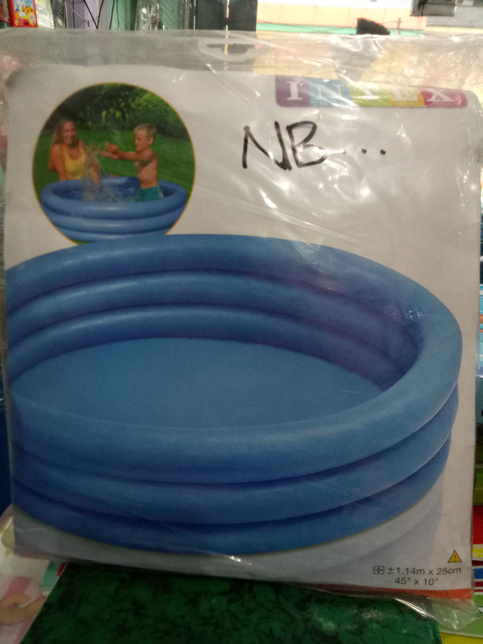 Jual Kolam Renang Anak Biru Polos Intex Kemasan Plastik Kab Bandung Vitakids Shop Tokopedia