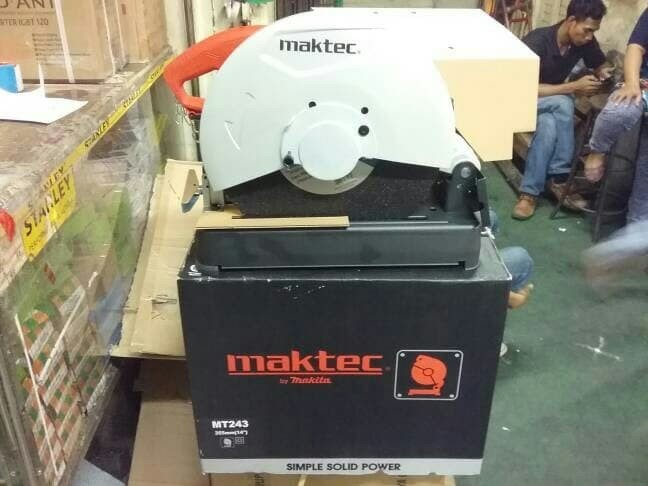 harga Mesin cutting wheel maktec mt243 / mesin potong besi / cut off mt 243 Tokopedia.com