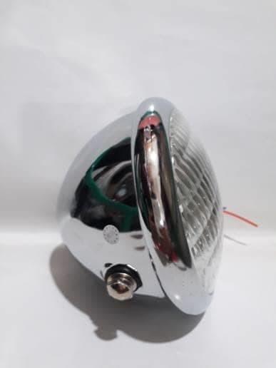 harga Reflektor lampu depan cb cafe racer japstyle besi bohlam h4 Tokopedia.com