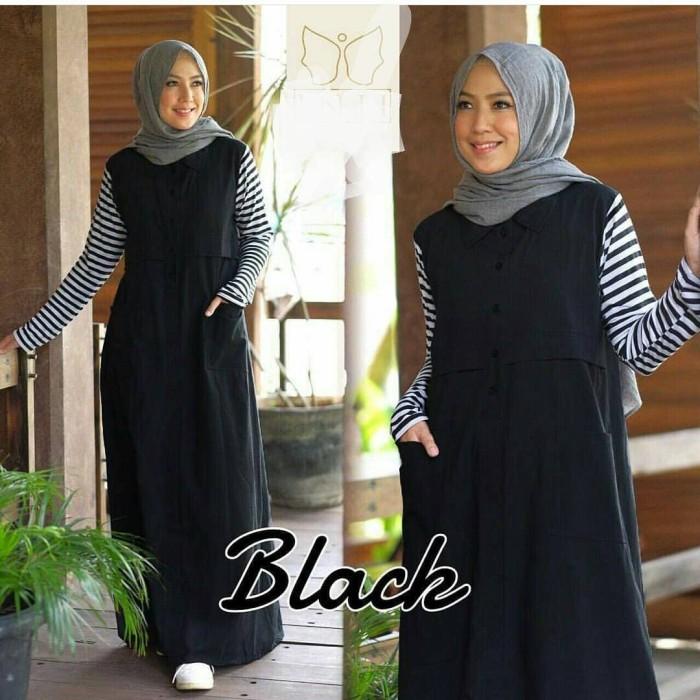 harga Saffa dress balotelly mix kaos gamis panjang hijab casual trendy Tokopedia.com