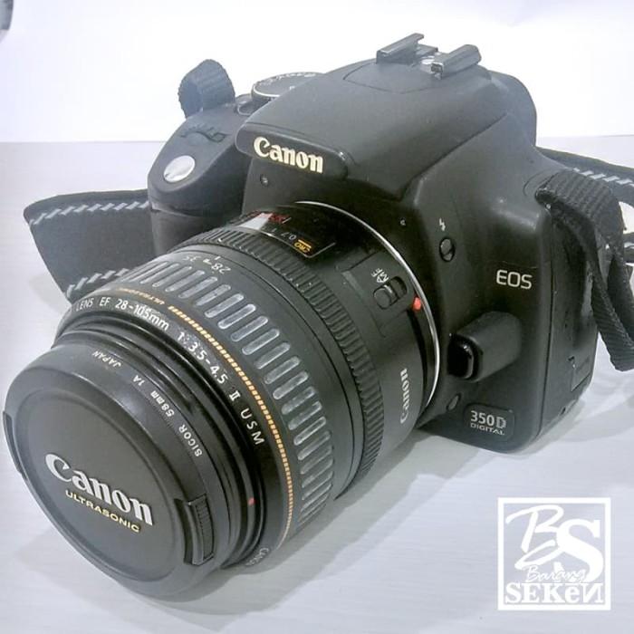 Jual Kamera DSLR - Canon 350D EOS (Seken) - DKI Jakarta - Barang SEKN |  Tokopedia