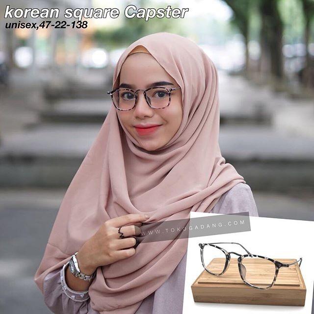 Jual frame kacamata korea capster kacamata pria wanita terbaru 2018 ... 215da2a971