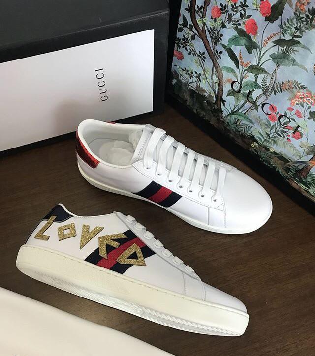 c49751a005b72 Jual Gucci sneakers size 35-40 - JJs Shoes   Tokopedia