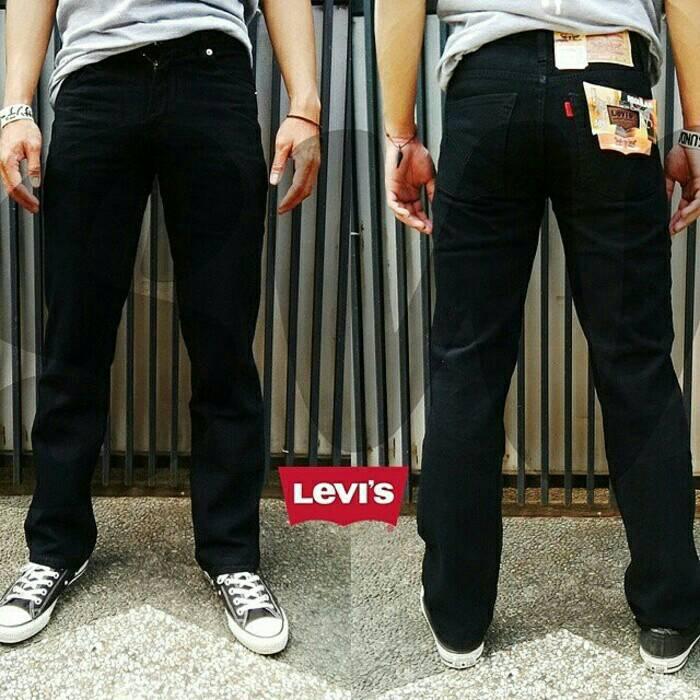 Celana jeans levis 505 regular basic paling laris |diskon|baru