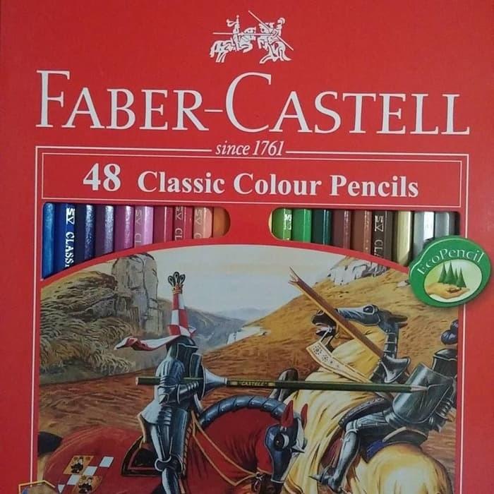 Jual Pensil Warna Faber Castell Classic 48 Warna Gambar Mewarnai