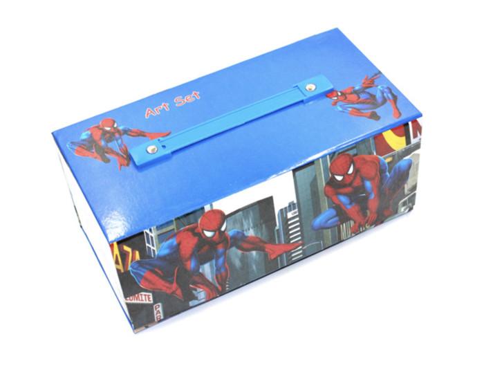 Jual Crayon Set Spiderman Art Set Isi 54pcs Alat Gambar Mewarnai
