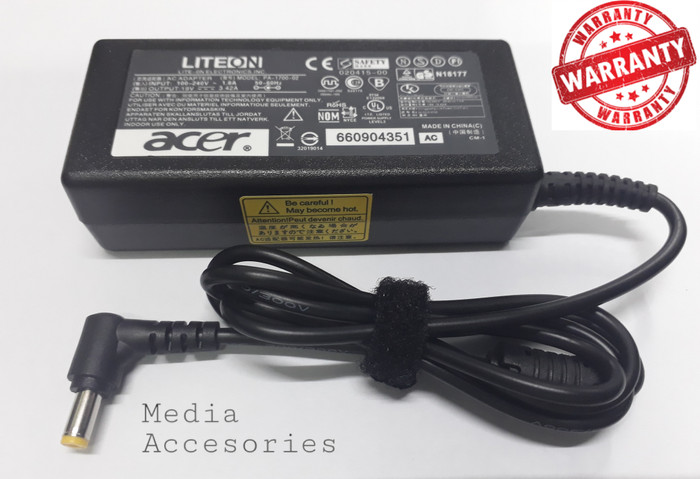 Adaptor Charger Laptop Acer Aspire One 722 4738Z 725 756 / 4349 / 4755