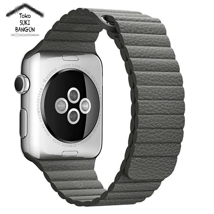 38mm Apple Watch iWatch Tali Jam Magnetic Leather Loop Strap Band