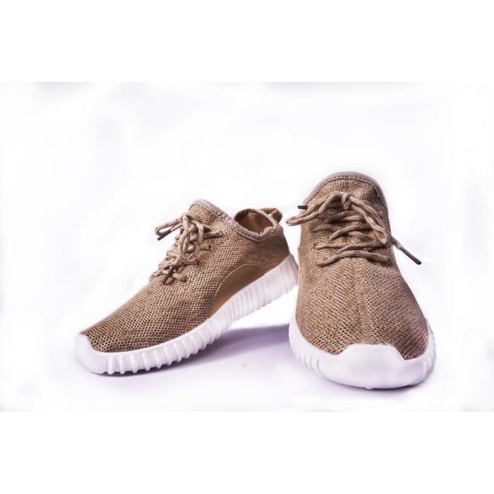 harga Ready stok merlin, sepatu sneakers import korea- 270 #khaki Tokopedia.com
