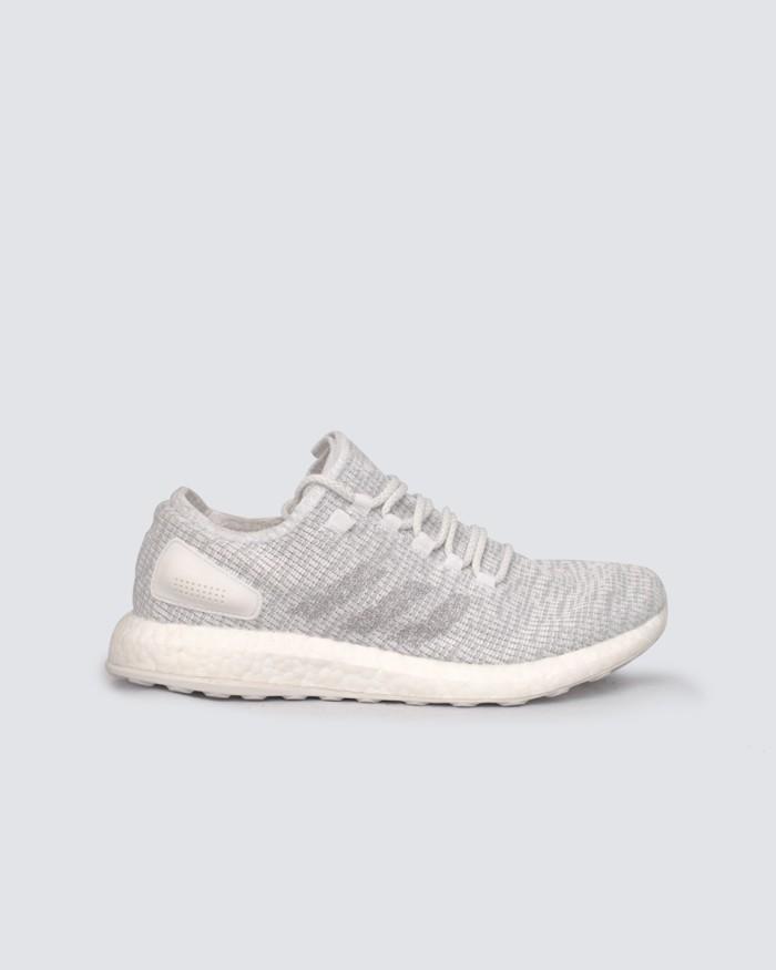 2e8f85aaad812 Jual Sepatu Sneakers Adidas Pure Boost 2 (White) - Putih