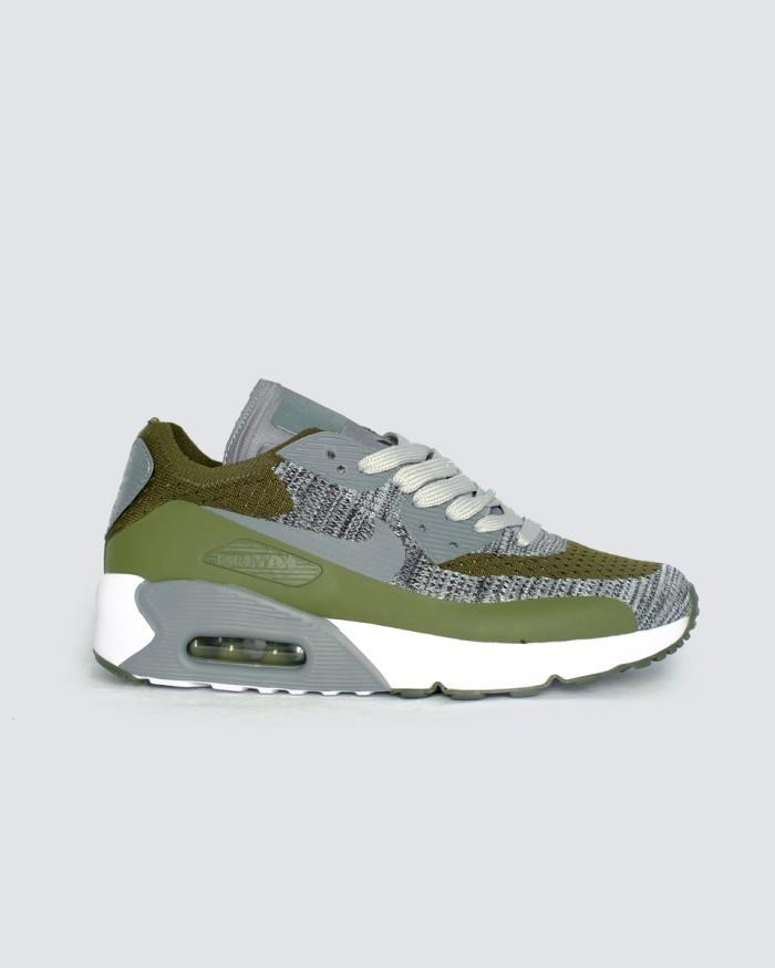 save off 5ec0a 66b64 Jual Sepatu Sneakers Nike Air Max 90 Flyknit Green Grey - Hijau Tua, 45 -  DKI Jakarta - LEXA Sneakers | Tokopedia