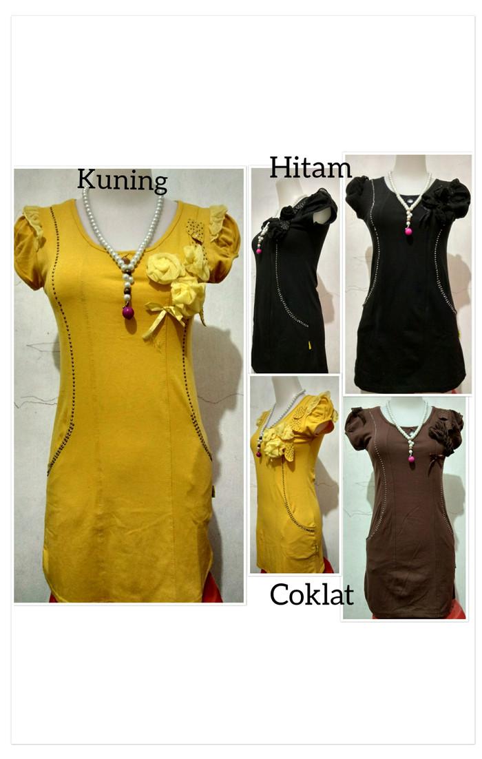 harga Atasan wanita style korean kembang/ mini dress korea fashion bunga Tokopedia.com