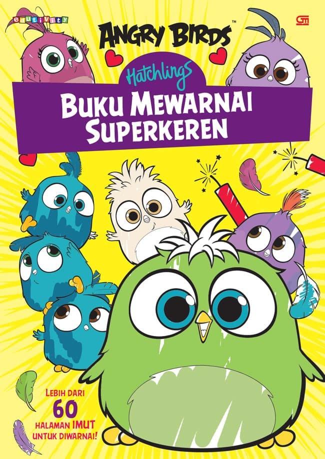 Jual Angry Birds Hatchlings Buku Mewarnai Superkeren Dki Jakarta