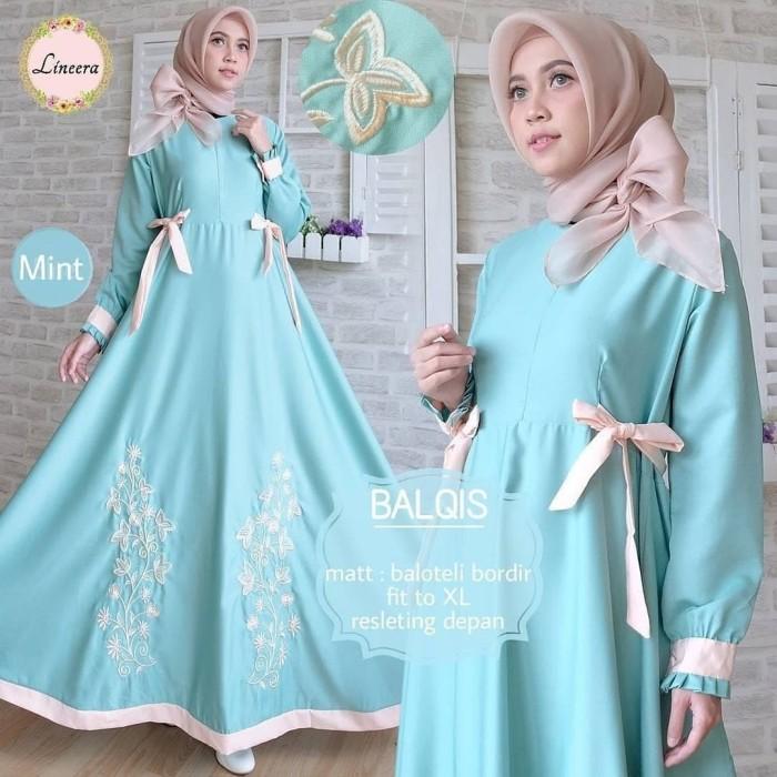 Jual Balqis Maxy Busana Muslim Terbaru 2018 Noni Collection