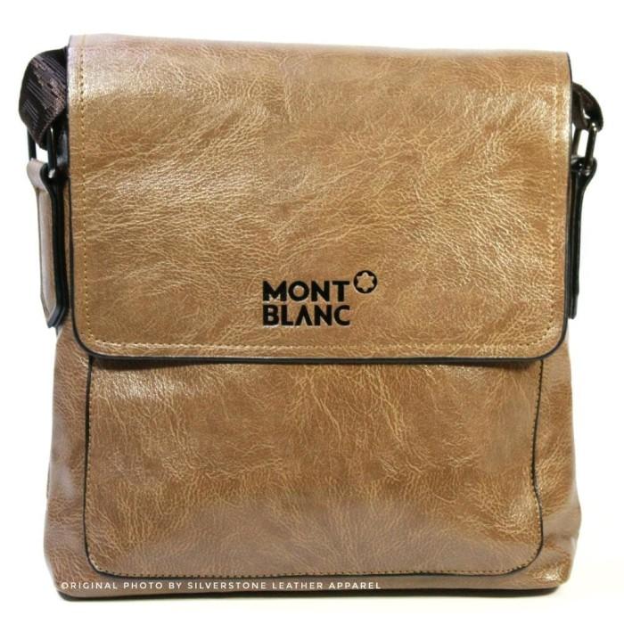 Jual Tas Selempang Pria KULIT ASLI PREMIUM Mont Blanc IMPORT Pria ... fc23e16921