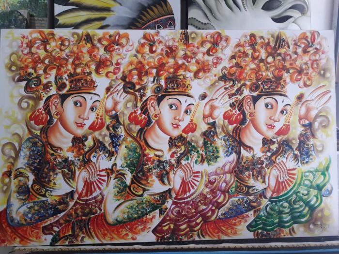 harga Lukisan penari bali dan harga promo Tokopedia.com