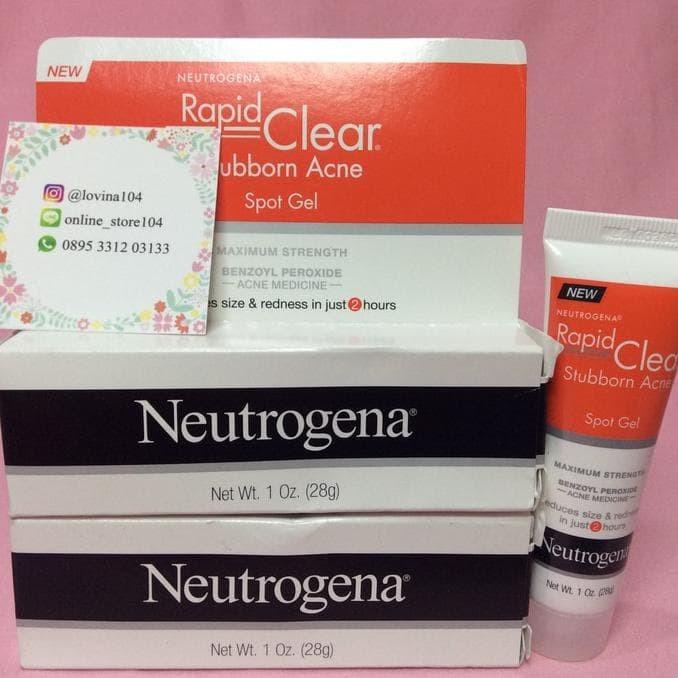 Jual Neutrogena Rapid Clear Stubborn Acne Spot Gel - Obat ...