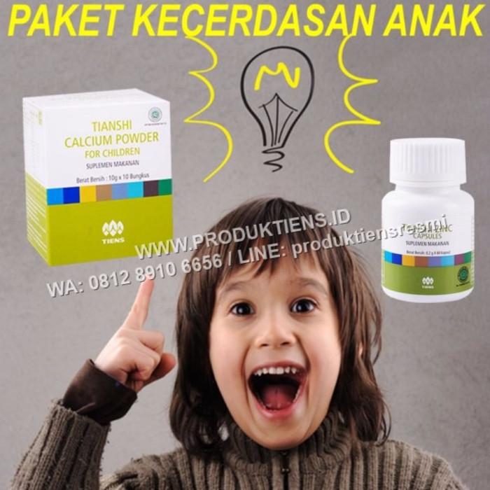 Foto Produk PROMO PRODUK LARIS Paket Kecerdasan Anak Kalsium Zinc Tiens/Tianshi Pe dari tiens-herbal01