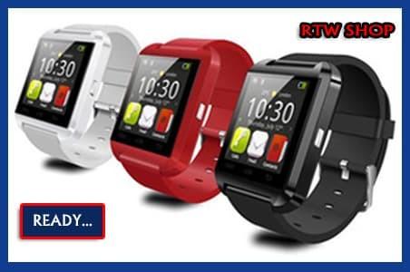 SMARTWATCH SMART WATCH FOR KIDS Bluetooth HP Handphone Jam Tangan Anak - Merah