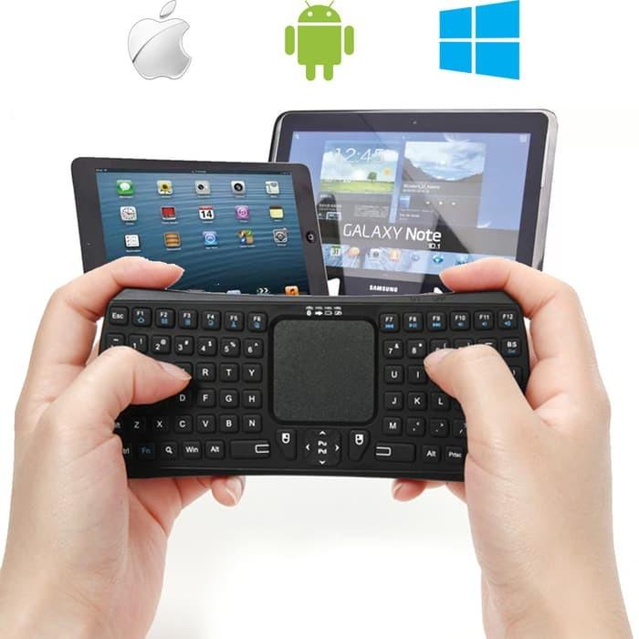 Jual Seenda Universal Mini Bluetooth Touchpad Keyboard Hp Tablet