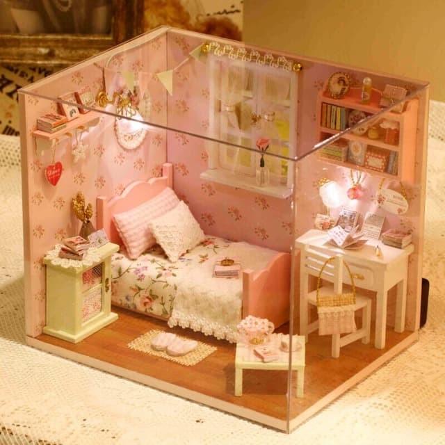 harga Diy h002 sunshine angel dollhouse miniature model Tokopedia.com