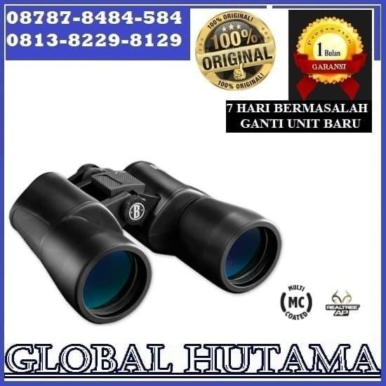 Teropong Binocular Bushnell PowerView 20x50mm 132050 + Garansi