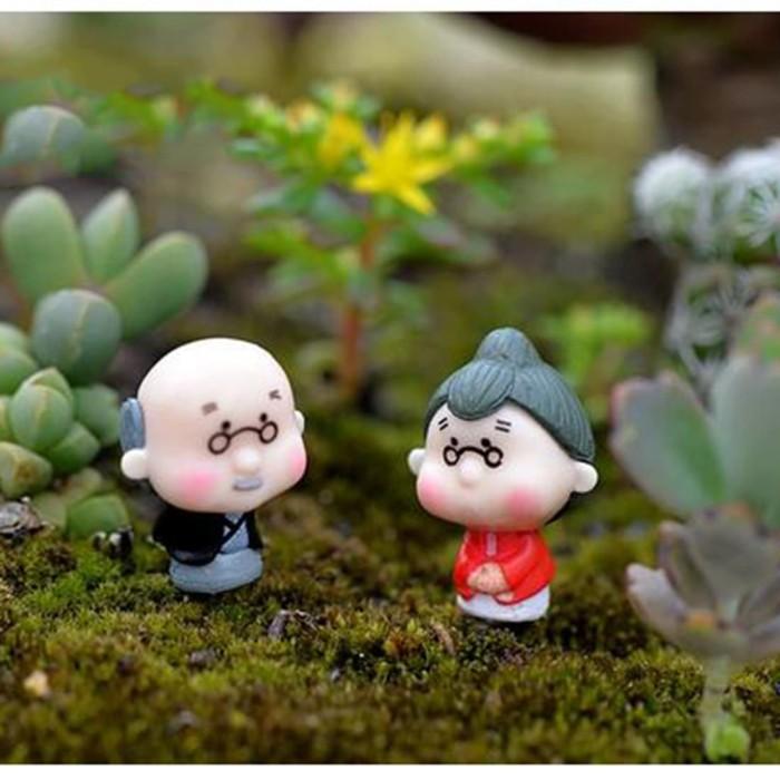 harga Miniatur kakek nenek untuk maket, aquascape,terrarium dll Tokopedia.com