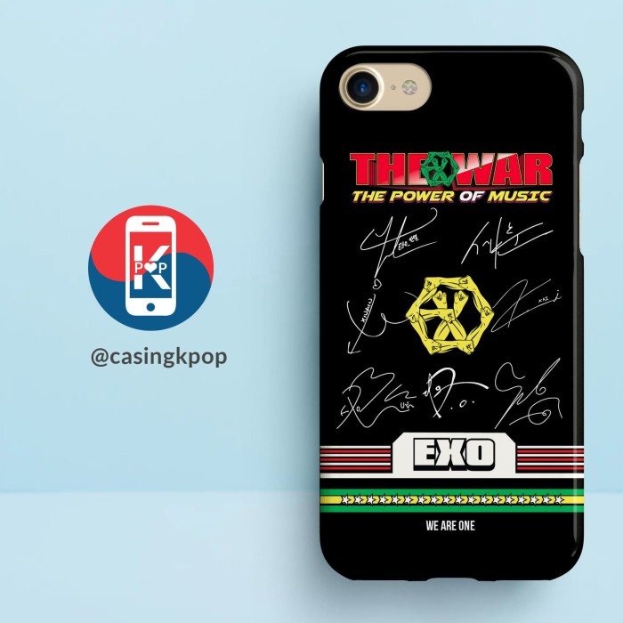 harga Casing handphone kpop exo the war we are one with signature Tokopedia.com
