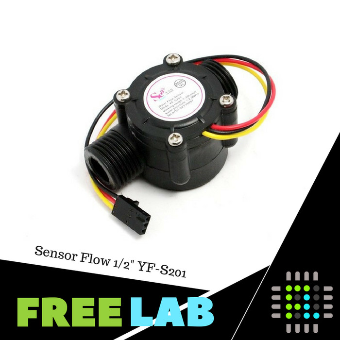 harga Sensor aliran air high precision water flow sensor 1/2  yf s201 Tokopedia.com