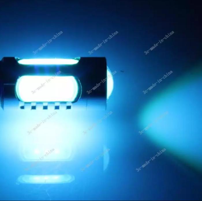 Led sein / mundur t20 7440 hpl 11 watt blue ice / ice blue supergrade