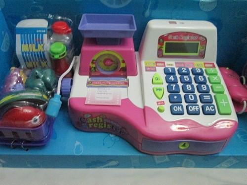 harga Mainan mesin kasir kasiran mesin check out supermarket Tokopedia.com