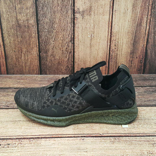 ORIGINAL PUMA IGNITE EVOKNIT Sepatu Olahraga Running Pria hitam putih -  Putih 12483e8554