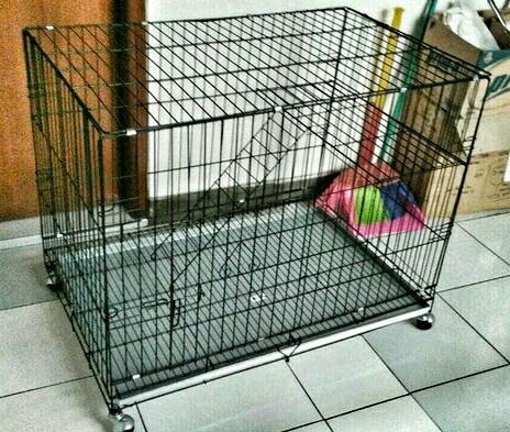 harga Kandang kucing tingkat roda p90cm Tokopedia.com