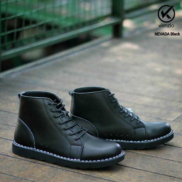 Jual Free Bonus !!! Sepatu Boots Murah REYL Nevada Original (Kulit ... f5cdeee437