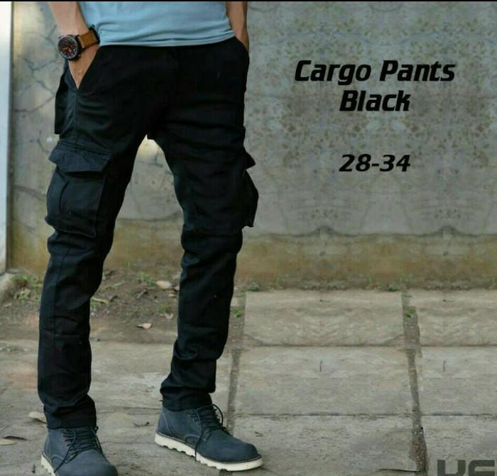 harga Celana cargo panjang hitam | celana pdl | celana gunung Tokopedia.com