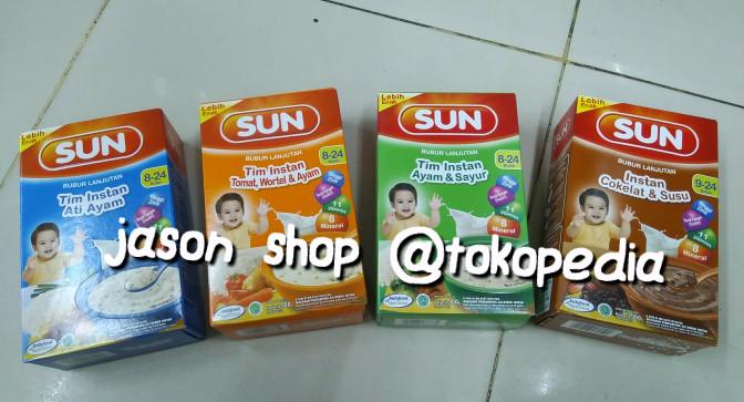 Jual Bubur Bayi Sun 8 24 Bulan Bubur Tim Instan Sun 8 24 Bulan Jakarta Pusat Jason Kids N Baby Shop Tokopedia