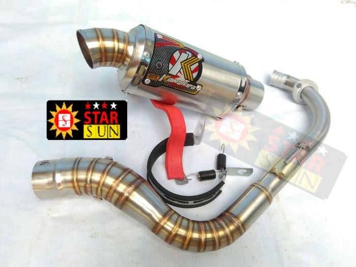 harga Knalpot racing nmax   beat  vario  mio kawahara oval Tokopedia.com