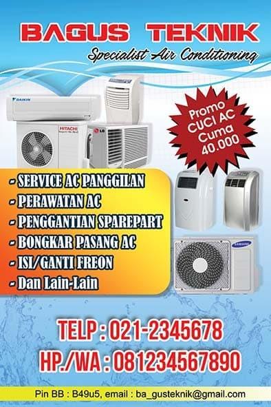 Jual Brosur Acservice Acbrosurkartunamanotadigitalprinting Dki Jakarta Jjcustom Tokopedia