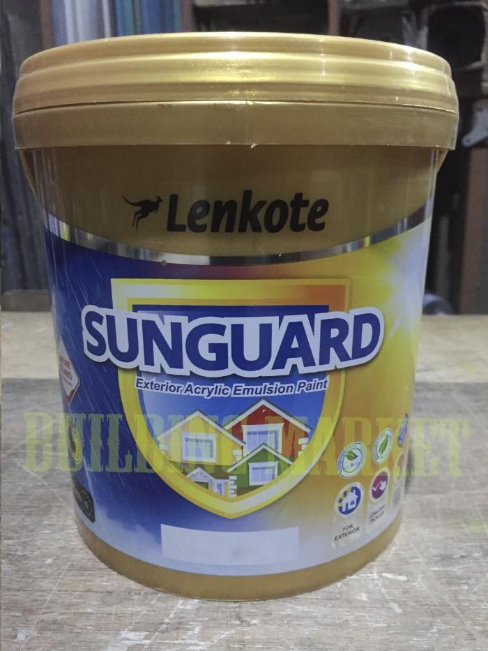 harga Cat tembok tinting / oplosan lenkote sunguard 25 liter exterior Tokopedia.com
