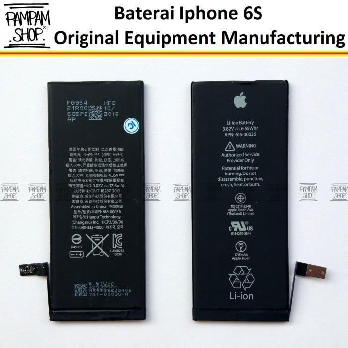 Jual Baterai Apple Iphone 6S   6 S Original 100%  ea0308bd95